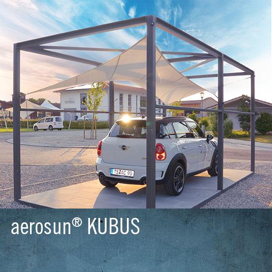 aeronautec Kubus als Carport