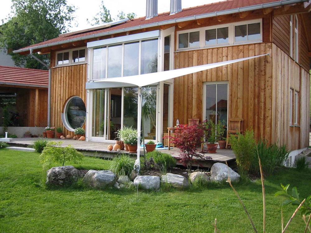 3-Punkt Sonnensegel als Sonnenschutz und Regenschutz für Ihre Terrasse,wasserdicht sturmsicher