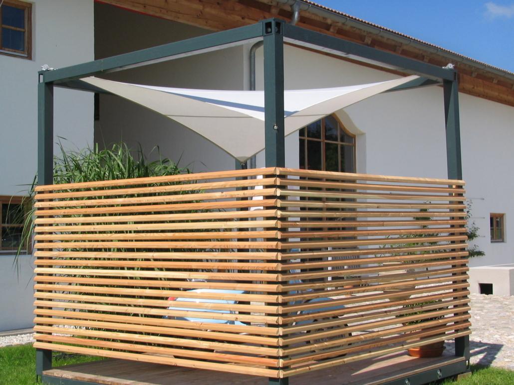 aerosun® Kubus, Wetterschutz und Sonnenschutz