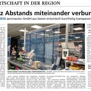 Pressebericht_26.03.20_OVB zu aeronautec ProMed | Covid19 Schutzfolie