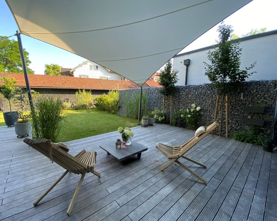 aerosun® 365 Mehrpunkt- Sonnensegel, Terrasse - wasserdicht & sturmsicher
