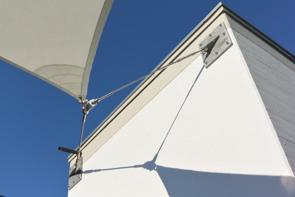 aerosun® 365 Innenhofüberdachung, Objektbau