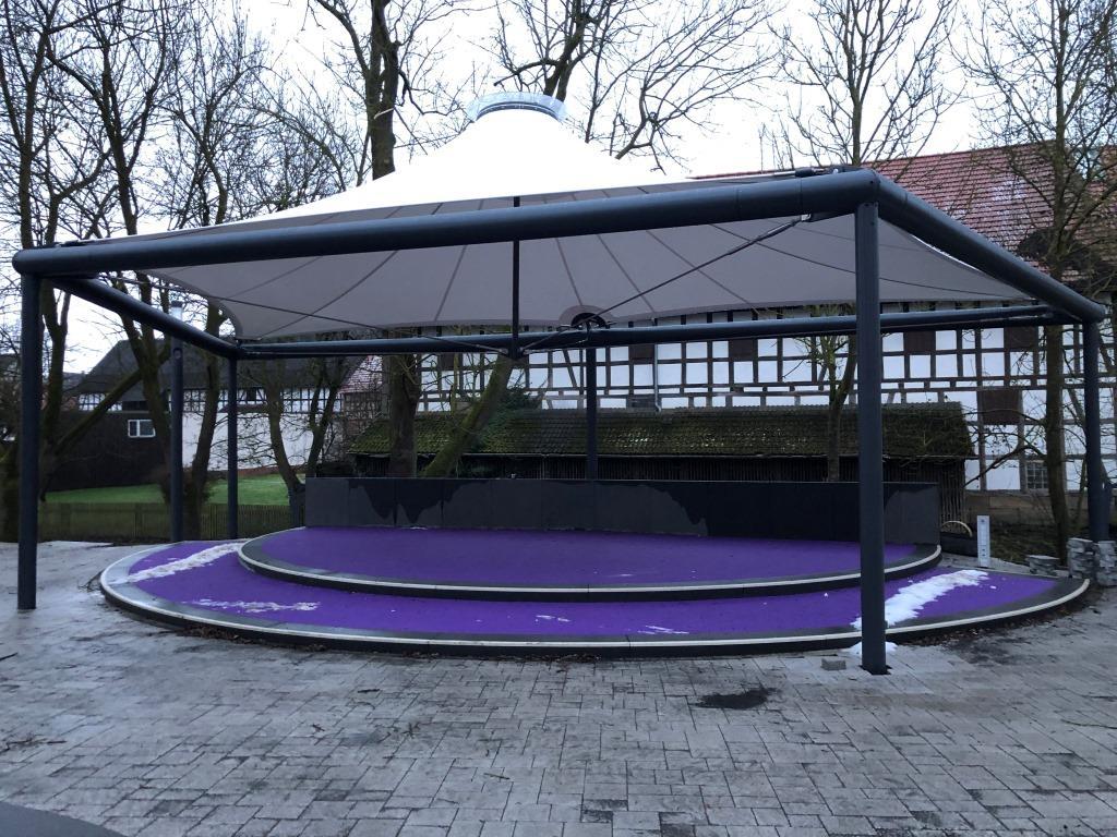 aerosun® 365 Bühnenüberdachung