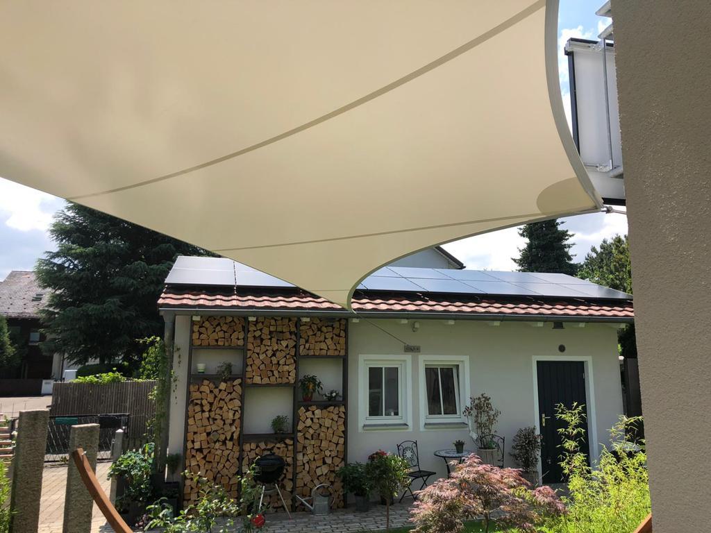 aerosun® 365 Mehrpunkt- Sonnensegel - wasserdicht & sturmsicher